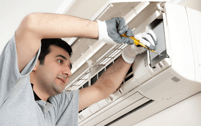 Air conditioning servicing