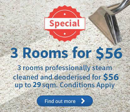 Carpet Cleaning Services 3 Rooms For 56 Cheap As Chips